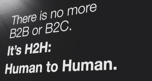 B2B Tech brands that believe in H2H, adopt B2C standards of creativity.