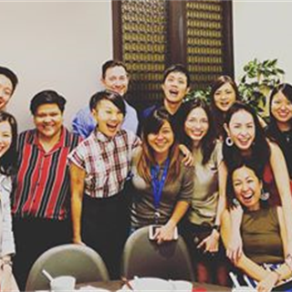 Day 13 of Lunar New Year, doing traditional Lo Hei with our lovely Citi SG clients. #brayleinosplash...